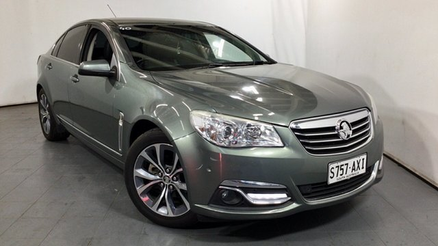 Used Holden Calais VF MY14 Elizabeth, 2013 Holden Calais VF MY14 Prussian Steel 6 Speed Sports Automatic Sedan