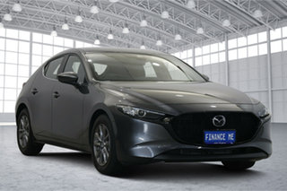 2020 Mazda 3 BP2H7A G20 SKYACTIV-Drive Pure Grey 6 Speed Sports Automatic Hatchback.