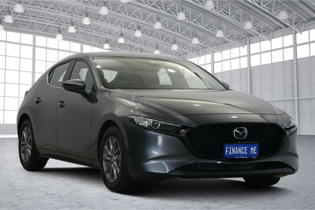 Used Mazda 3 BP2H7A G20 SKYACTIV-Drive Pure Victoria Park, 2020 Mazda 3 BP2H7A G20 SKYACTIV-Drive Pure Grey 6 Speed Sports Automatic Hatchback