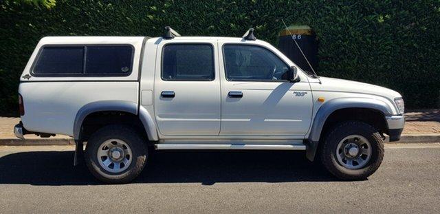 Used Toyota Hilux LN167R SR5 (4x4) Prospect, 1999 Toyota Hilux LN167R SR5 (4x4) White 5 Speed Manual 4x4 Dual Cab Pick-up
