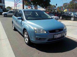 2006 Ford Focus LS LX Blue 4 Speed Automatic Sedan.