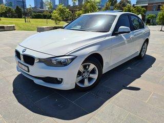 2013 BMW 3 Series F30 MY1112 318d White 8 Speed Automatic Sedan.