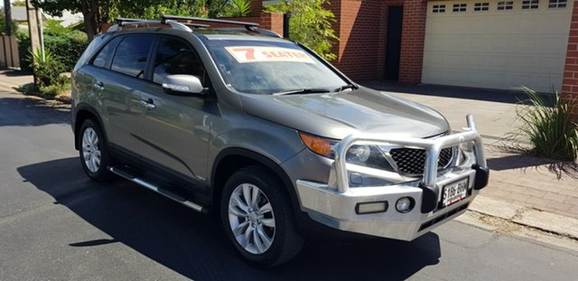 Used Kia Sorento XM MY12 Platinum Global Circuit (4x4) Prospect, 2012 Kia Sorento XM MY12 Platinum Global Circuit (4x4) Graphite 6 Speed Automatic Wagon