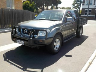 2008 Nissan Navara D40 ST-X (4x4) Grey 6 Speed Manual Dual Cab Pick-up
