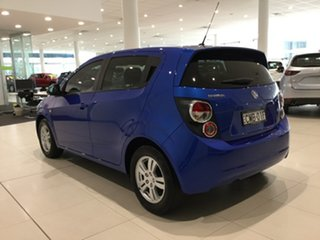 2012 Holden Barina TM Blue 5 Speed Manual Hatchback