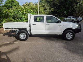 2011 Toyota Hilux KUN26R MY10 SR White 5 Speed Manual Utility.