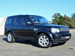 2011 Land Rover Discovery 4 Series 4 MY11 SDV6 CommandShift HSE Black 6 Speed Sports Automatic Wagon.