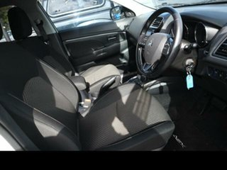 2015 Mitsubishi ASX XB MY15 LS (2WD) White Continuous Variable Wagon