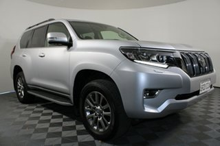 2019 Toyota Landcruiser Prado GDJ150R Kakadu Silver 6 Speed Sports Automatic Wagon