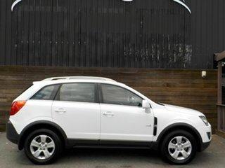 2011 Holden Captiva CG Series II 5 White 6 Speed Manual Wagon.