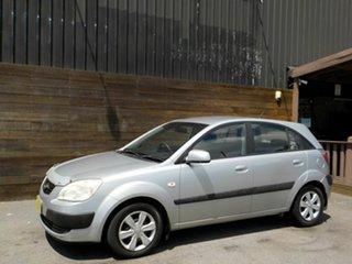 2005 Kia Rio JB Silver 4 Speed Automatic Hatchback.