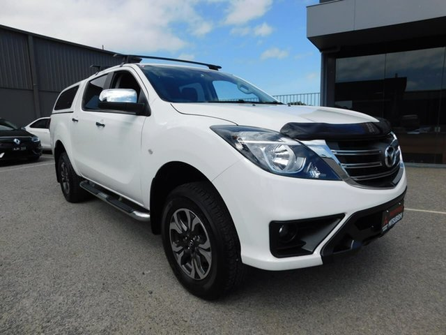 Pre-Owned Mazda BT-50 UR0YG1 XTR Wonthaggi, 2019 Mazda BT-50 UR0YG1 XTR White 6 Speed Sports Automatic Utility
