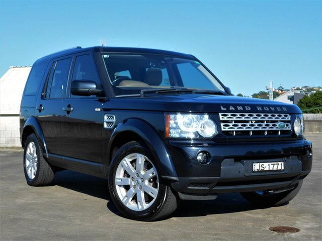 Used Land Rover Discovery 4 Series 4 MY11 SDV6 CommandShift HSE Brookvale, 2011 Land Rover Discovery 4 Series 4 MY11 SDV6 CommandShift HSE Black 6 Speed Sports Automatic Wagon