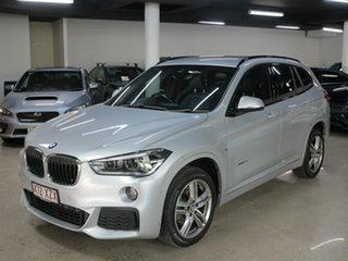 2018 BMW X1 F48 sDrive18d Steptronic Silver 8 Speed Sports Automatic Wagon.