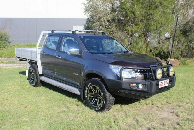 Used Holden Colorado RG MY14 LTZ Crew Cab Ormeau, 2013 Holden Colorado RG MY14 LTZ Crew Cab Grey 6 Speed Sports Automatic Utility
