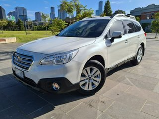 2018 Subaru Outback B6A MY18 2.0D CVT AWD White 7 Speed Constant Variable Wagon.