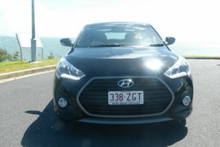 2015 Hyundai Veloster FS5 Series II SR Coupe D-CT Turbo Black 7 Speed Sports Automatic Dual Clutch