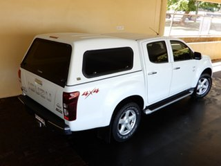 2014 Isuzu D-MAX TF MY15 LS-U HI-Ride (4x4) White 5 Speed Manual Crew Cab Utility