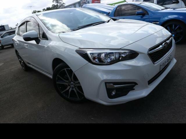 Used Subaru Impreza MY18 2.0I-L (AWD) Kingswood, 2018 Subaru Impreza MY18 2.0I-L (AWD) White Continuous Variable Hatchback
