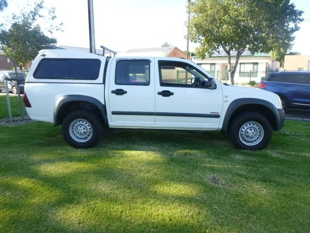 Used Holden Rodeo RA LX Beverley, 2007 Holden Rodeo RA LX White Manual Utility