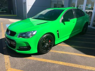 2017 Holden Commodore VF II MY17 SS V Redline Green 6 Speed Manual Sedan.