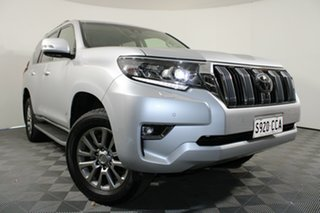2019 Toyota Landcruiser Prado GDJ150R Kakadu Silver 6 Speed Sports Automatic Wagon.