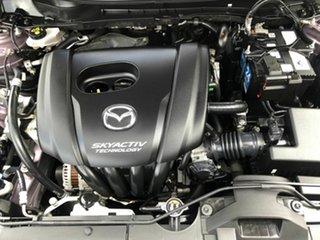 2015 Mazda 2 DJ2HAA Genki SKYACTIV-Drive Purple 6 Speed Sports Automatic Hatchback