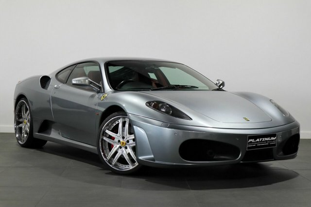 Used Ferrari F430 F136 F1 Bayswater, 2006 Ferrari F430 F136 F1 Silver 6 Speed Seq Manual Auto-Clutch Coupe