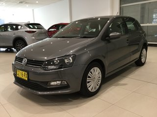 2015 Volkswagen Polo 6R MY15 66TSI DSG Trendline Pepper Grey 7 Speed Sports Automatic Dual Clutch