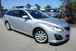 2010 Mazda 6 GH1052 MY10 Touring Silver 5 Speed Sports Automatic Wagon.