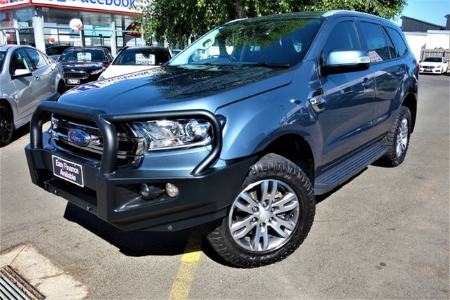 Used Ford Everest UA Trend Seaford, 2016 Ford Everest UA Trend Blue 6 Speed Sports Automatic SUV