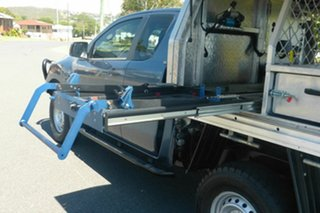 2015 Mazda BT-50 UR0YF1 XT Freestyle Blue 6 Speed Sports Automatic Cab Chassis