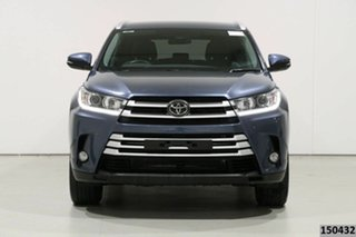 2019 Toyota Kluger GSU50R GXL (4x2) Blue 8 Speed Automatic Wagon.