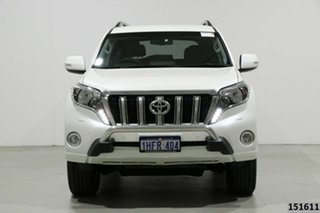 2017 Toyota Landcruiser Prado GDJ150R MY16 VX (4x4) Crystal Pearl 6 Speed Automatic Wagon.