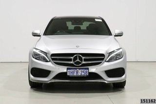 2017 Mercedes-Benz C200 205 MY17 Silver 9 Speed Automatic G-Tronic Sedan.