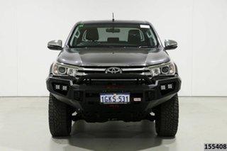 2017 Toyota Hilux GUN126R MY17 SR5 (4x4) Grey 6 Speed Automatic Dual Cab Utility.