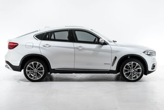 2015 BMW X6 F16 xDrive30d Coupe Steptronic White 8 Speed Sports Automatic Wagon