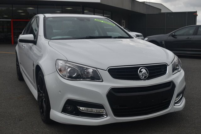 Used Holden Commodore VF MY14 SS V Redline Wantirna South, 2014 Holden Commodore VF MY14 SS V Redline White 6 Speed Sports Automatic Sedan