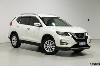 2018 Nissan X-Trail T32 Series 2 ST-L 7 Seat (2WD) White Continuous Variable Wagon.