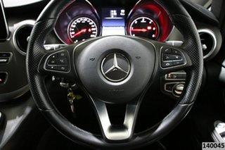 2017 Mercedes-Benz V250d 447 MY17 Avantgarde MWB Obsidian Black Metallic 7 Speed Automatic Wagon