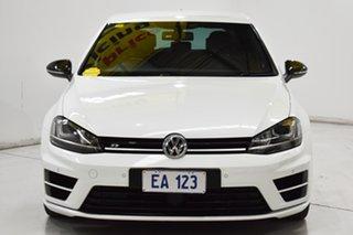 2015 Volkswagen Golf VII MY16 R DSG 4MOTION Wolfsburg Edition White 6 Speed.