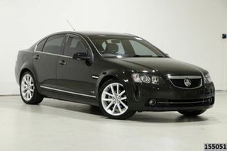 2012 Holden Calais VE II MY12 V Black 6 Speed Automatic Sedan.