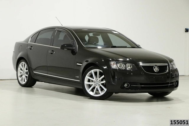 Used Holden Calais VE II MY12 V Bentley, 2012 Holden Calais VE II MY12 V Black 6 Speed Automatic Sedan