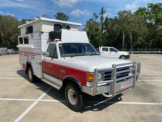 1991 Ford F150 (4x4) White 5 Speed Manual 4x4 Utility.