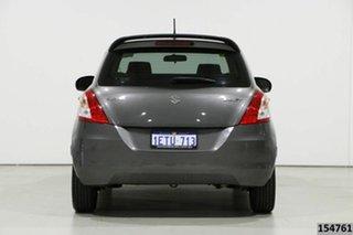 2015 Suzuki Swift FZ MY14 GL Navigator Grey 5 Speed Manual Hatchback