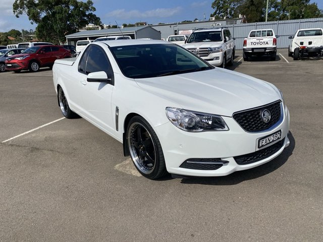 Used Holden Ute VF MY15 Ute Cardiff, 2015 Holden Ute VF MY15 Ute White 6 Speed Sports Automatic Utility