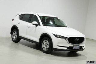 2017 Mazda CX-5 MY17.5 (KF Series 2) Maxx (4x2) White 6 Speed Automatic Wagon