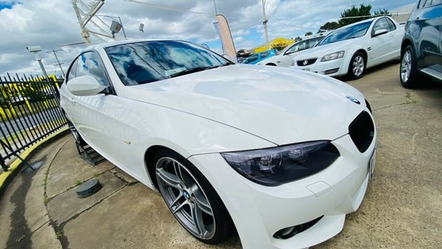 Used BMW 3 Series E92 MY11 325i Steptronic Maidstone, 2011 BMW 3 Series E92 MY11 325i Steptronic White 6 Speed Sports Automatic Coupe