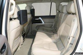 2019 Toyota Landcruiser VDJ200R LC200 Sahara (4x4) Crystal Pearl 6 Speed Automatic Wagon