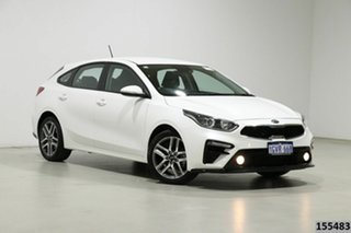 2019 Kia Cerato BD MY19 Sport NAV White 6 Speed Automatic Hatchback.